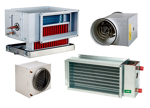 Water batteries & DX coolers