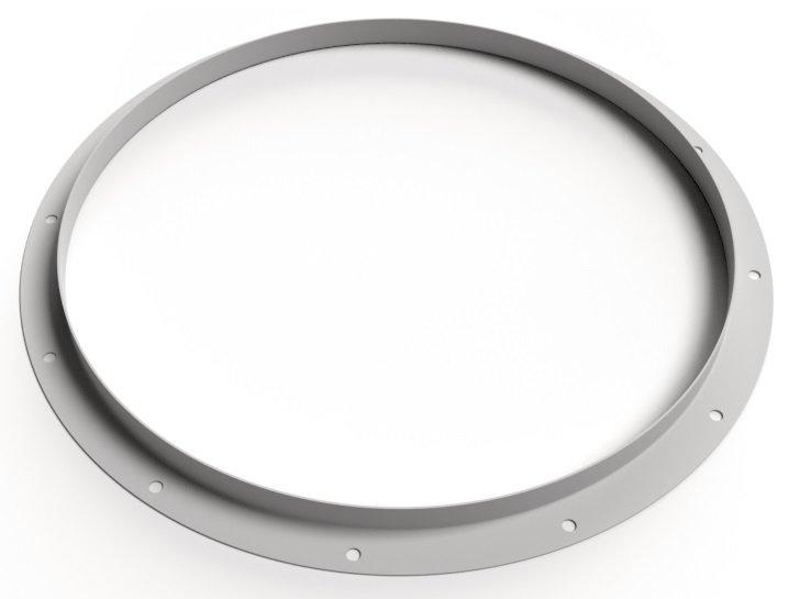 ASFV G630 flange - Systemair