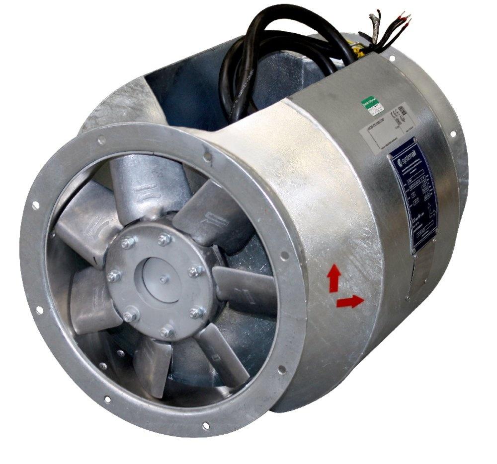 AXCBF-EX 250-6/28°-2 aks.vent - AXCBF-EX - Systemair