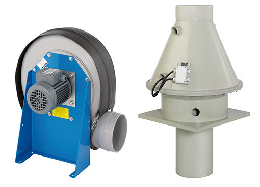 Centrifugal fans - Fans for aggressive media - Fans & Accessories - Products - Systemair