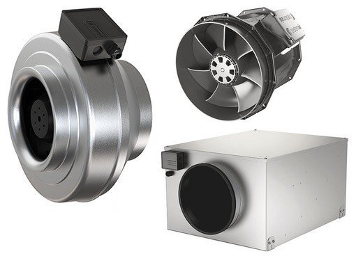 Circular duct fans