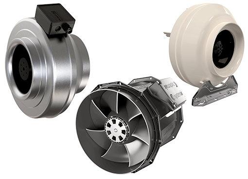 Circular duct fans