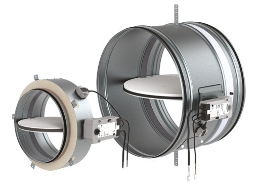 Circular Fire Dampers