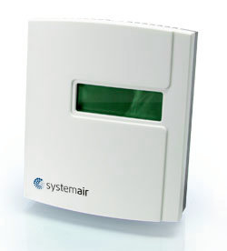 CO2RT-D Room Trans Display - Systemair