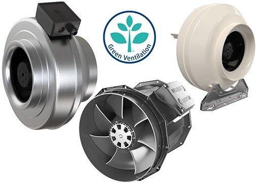 EC Circular duct fans