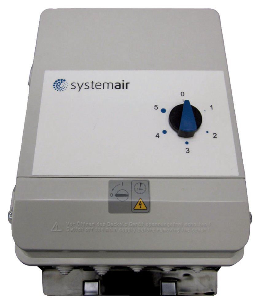 FRQ5S-4A+LED V2 Variateur - Systemair