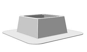 KDO450 Dakopstand - Systemair