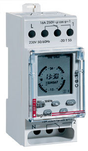 MicroREX D21 Plus Time Switch - Systemair