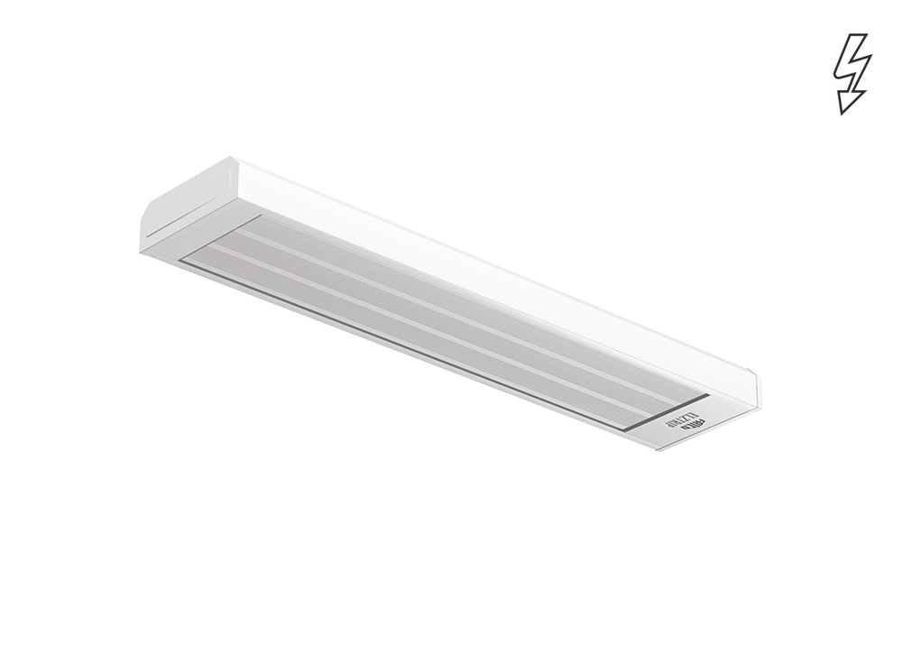 Elztrip EZ100 - Offices, shops and public premises - Radiant Heaters - Heating - Products - Systemair