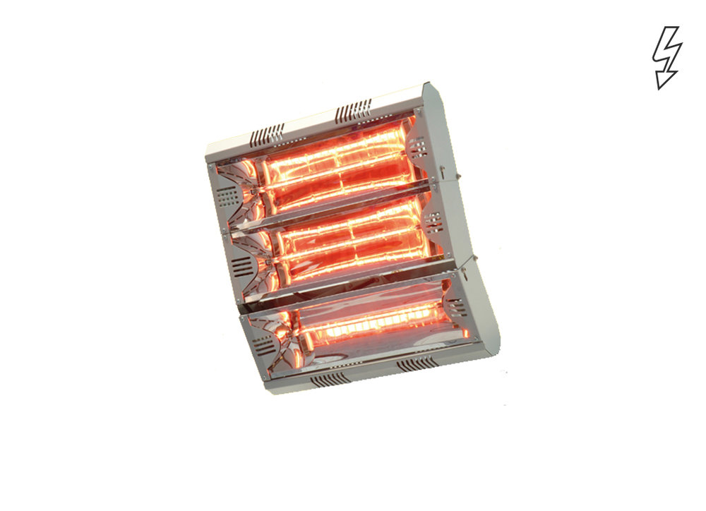Infrared heater IRCF - Industry and large premises - Radiant Heaters - Heating - Products - Systemair