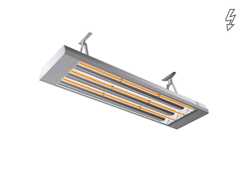 Infrared heater IR - Industry and large premises - Radiant Heaters - Heating - Products - Systemair