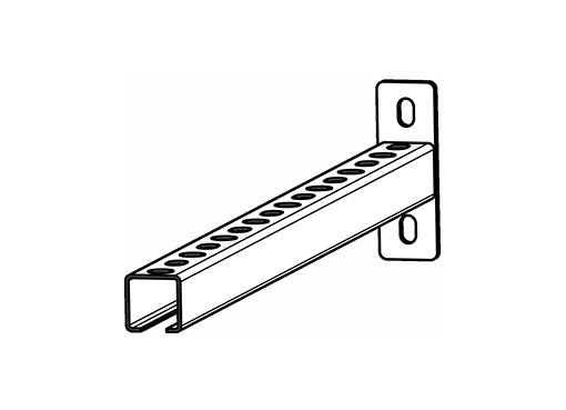 GWB640 Wall Bracket - Systemair