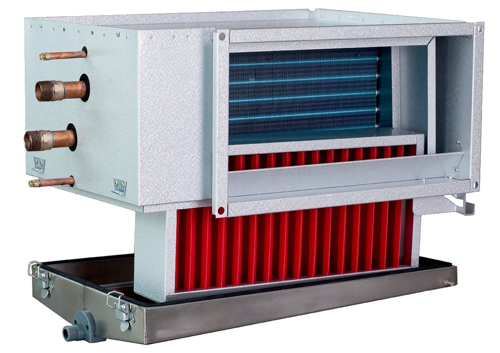 PGK 50-25-3-2,0 Duct cooler - Systemair