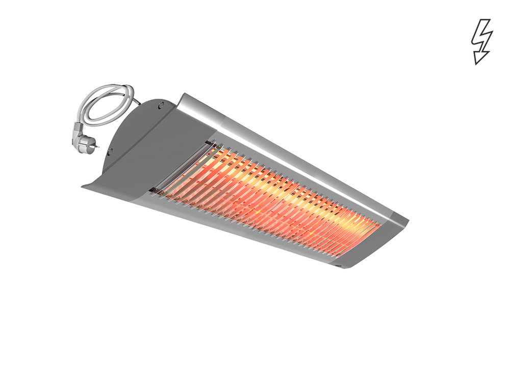 Infrared heater IHC - Outdoors - Radiant Heaters - Heating - Products - Systemair