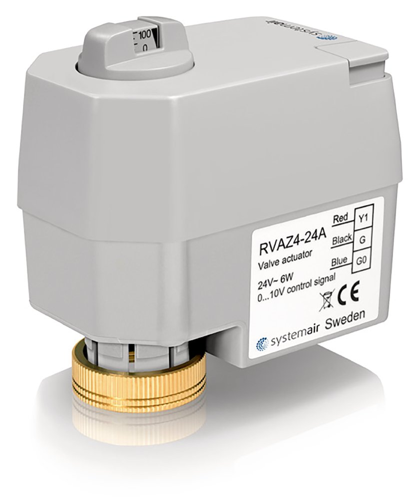 RVAZ4 24A Actuator 0-10V - Systemair