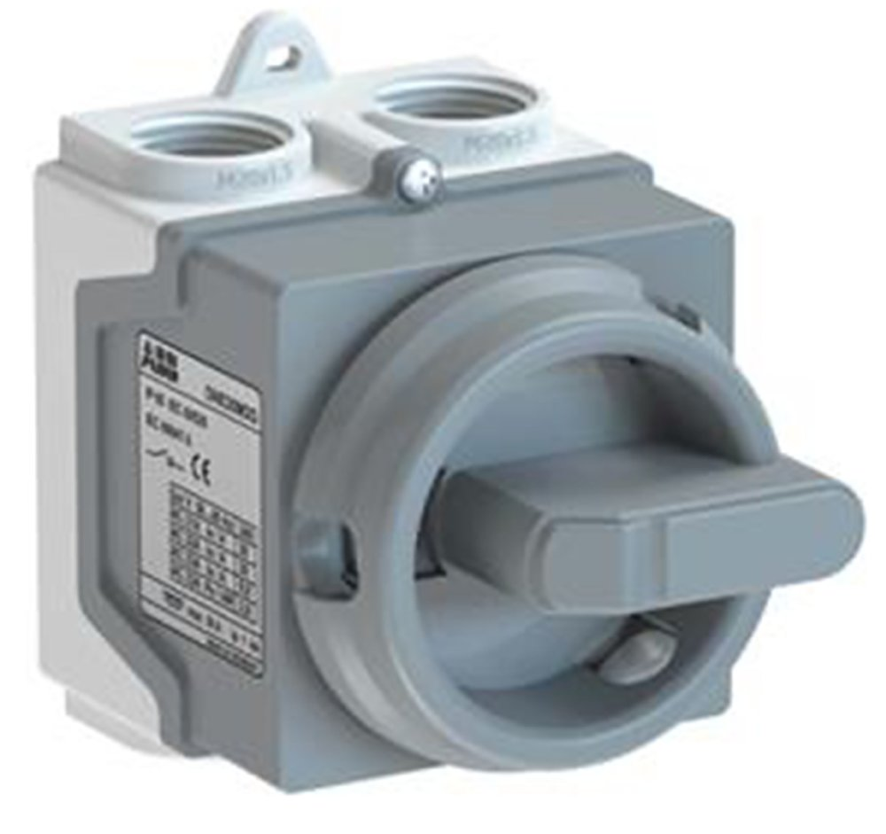 Safety switch 3-pole grey - Systemair