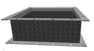 D400 Vierkante flex.verbinding - Systemair